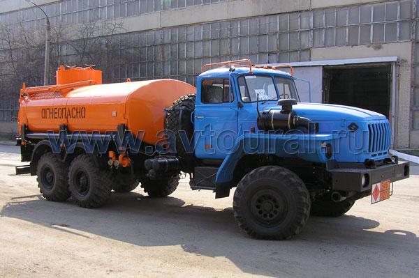 бензовоза Урал АЦ-11,5