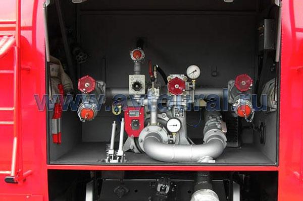 пожарной АЦ-7,5-40
