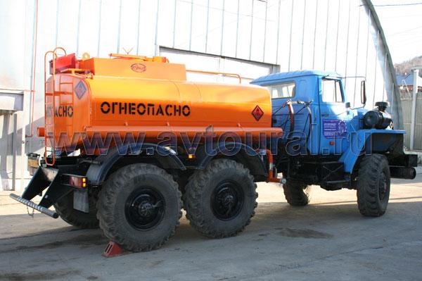 бензовоза Урал АЦ-6,5
