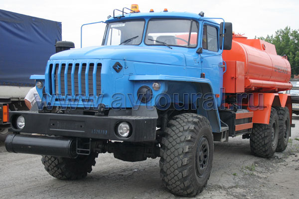 бензовоза Урал АЦ-10