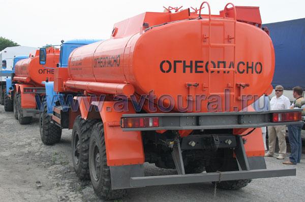 бензовоза Урал АЦ-12