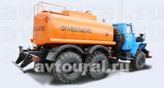 Бензовоз Урал АЦ-7,5