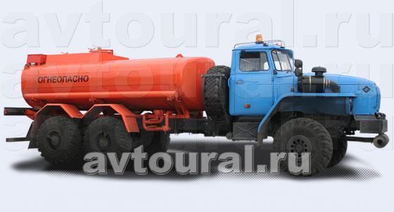 Бензовоз Урал АЦ-10
