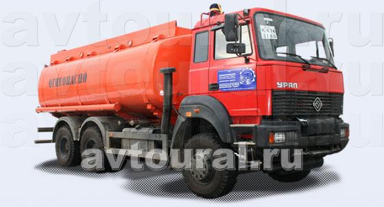 Бензовоз Урал АЦ-22