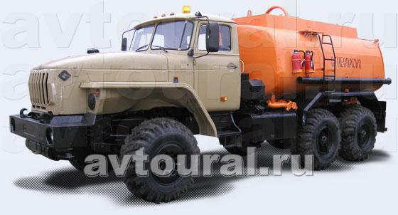 Бензовоз Урал АЦ-9