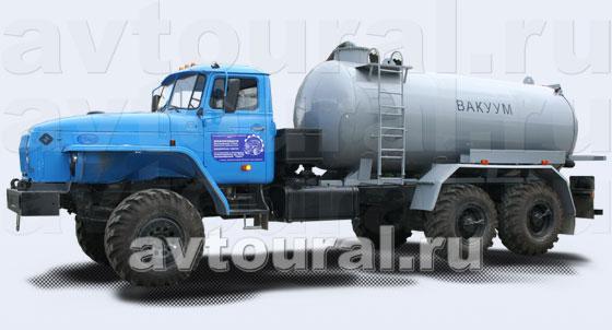 Машина вакуумная Урал МВ-10 Ч